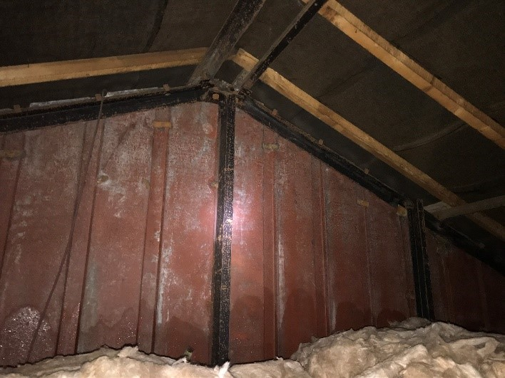 A photo of loft space